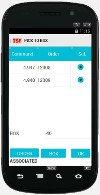 Pantalla Pick to box de la app android para terminales de radiofrecuencia del software de sistema de gestión de almacenes SGA SACA